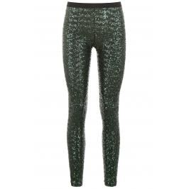 Gianluca capannolo leggings in paillettes Donna S Verde