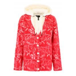 Moncler grenoble cardigan moncler genius 3 Donna M Bianco/Rosso Lana