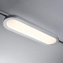 LED Panel Board ovale per 1-URail cromo satinato
